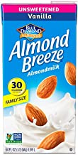 Almond Breeze Dairy Free Almondmilk, Unsweetened Vanilla, 64 Ounce
