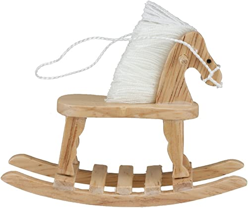 Dollhouse Miniature Rocking Horse