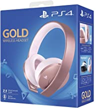 Sony Playstation 4 Wireless Headset, Rose Gold