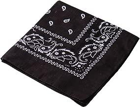 Pañuelo para la cabeza multifuncional estilo retro con estampado de cachemira; también se puede usar como diadema, velo, máscara para montar en bicicleta., hombre mujer, marrón