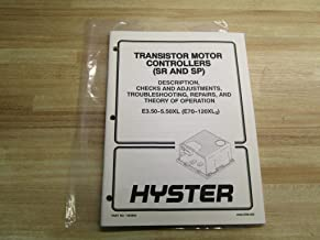 Hyster 1483863 Manual For Transistor Motor Controllers (SR & SP)