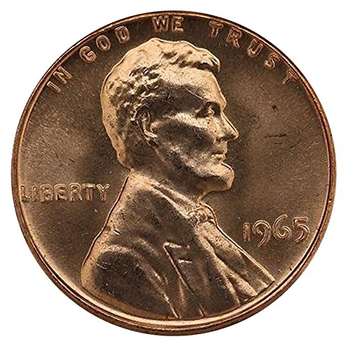 1965 Gem Special Mint Set SMS Lincoln Memorial Cent Penny Uncirculated...