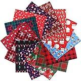 28 Stücke Weihnachten Stoff Polyester Bündeln Quilten