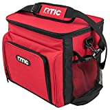 RTIC Day Cooler, Red, 28 Can, Insulated Bag with Leakproof Zipper