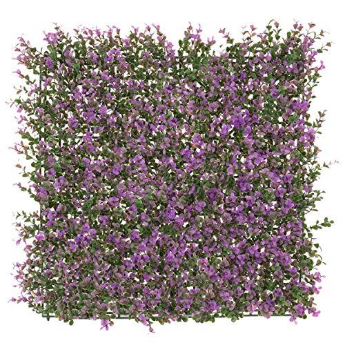 Seto Artificial Decorativo Lila de plástico para terraza Garden - LOLAhome