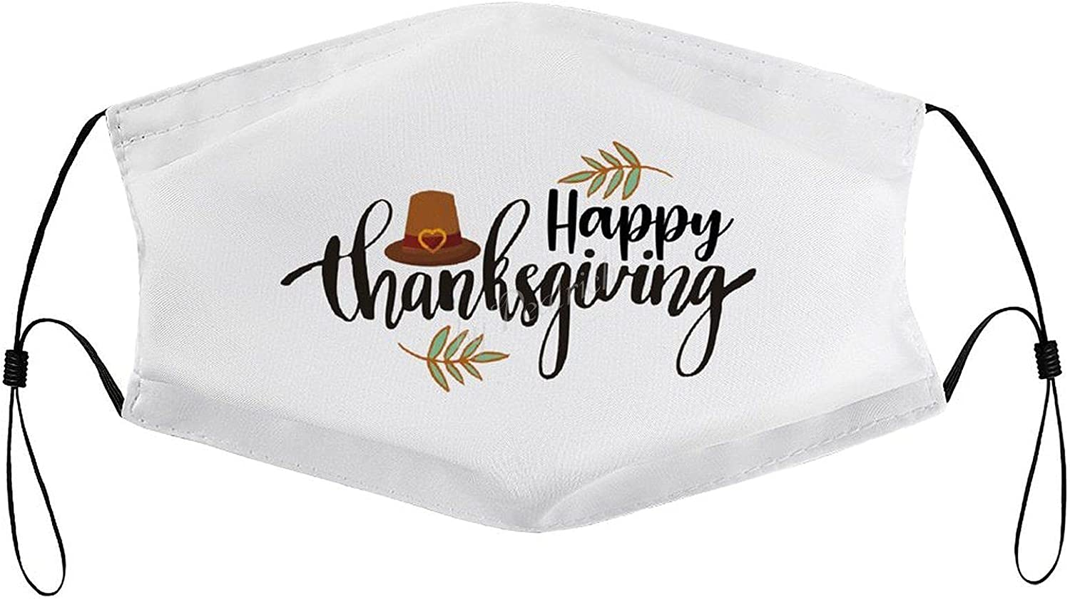 Reusable Face Protection Shield Thanksgiving Happy High order Ranking TOP20 Washable