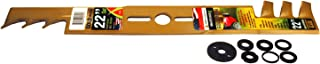 Maxpower 331982S 22-Inch Universal Gold Metal Mulching Lawn Mower Blade