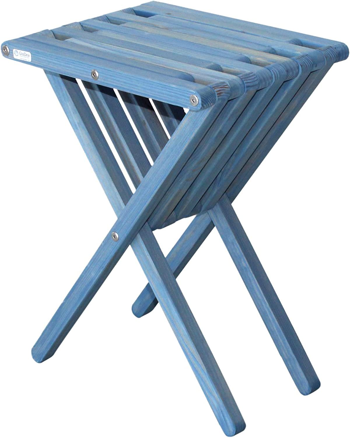 GloDea Furniture XQET45YPSB End Table X45, Sky bluee