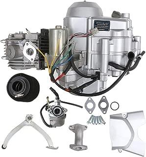 WPHMOTO 125cc 4-Stroke Semi-Auto Electric Start Motor Engine Single Cylinder Air Cooled for ATV Quad Go Kart Quad Bikes