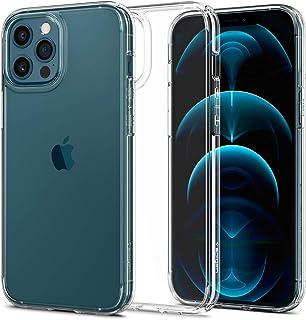 Spigen Ultra Hybrid Designed for Apple iPhone 12 Pro Max Case (2020) - Crystal Clear