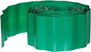 Dehner Lawn Edging, Flower Bed Edging 9 M x 20 cm Green