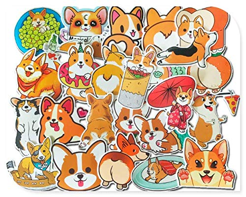 Cute Stickers Luggage Suitcase Trolley Case Decoration Computer Phone Case Guitar Surface Waterproof Stickers 25 Sheets