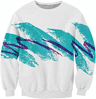 uideazone Unisex 3D Fashion Paper Cup Graffiti Crewneck Tank Hoodie Sweatshirt Shirt Collection