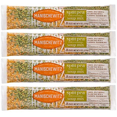 Manischewitz Soup Mix Split Pea (4 Pack)