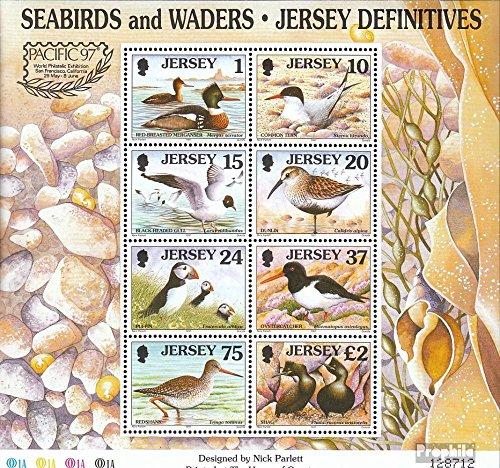 Verenigd Koninkrijk - Jersey Mi.-Aantal.: (compleet.Kwestie.) 1997 Lake- en Waadpakken (Postzegels voor verzamelaars) vogels