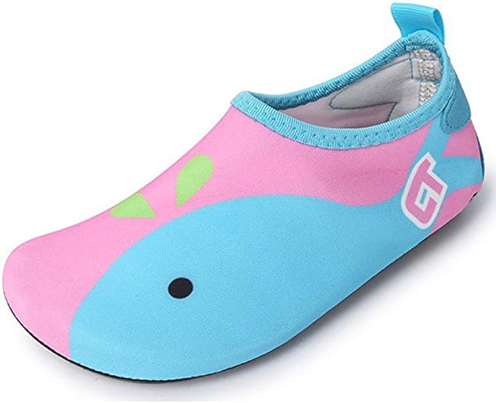JACKSHIBO Kids Swim Water Shoes Quick Dry Aqua Socks Barefoot Translated Sh Las Vegas Mall