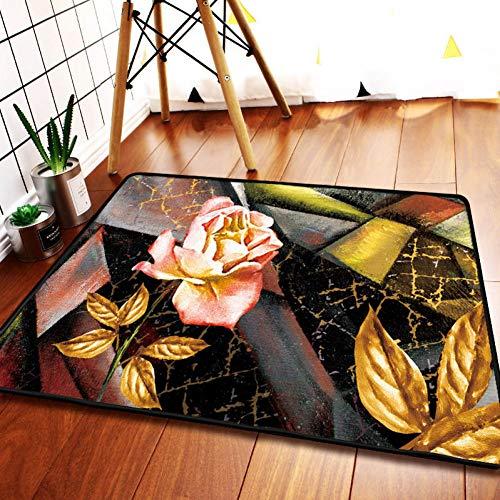 FORNCALO tapijten Chinese stijl binnen tapijt deurmat tapijt grote olieverfschilderij wind Illustraties gebied tapijten rechthoek flanel tapijt tapijt tapijt woonkamer