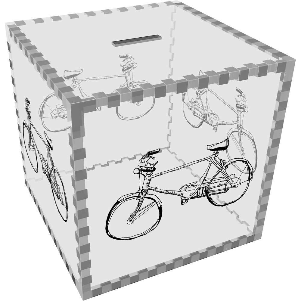 Azeeda Grande Bicicleta Caja de Dinero / Hucha (MB00070540 ...