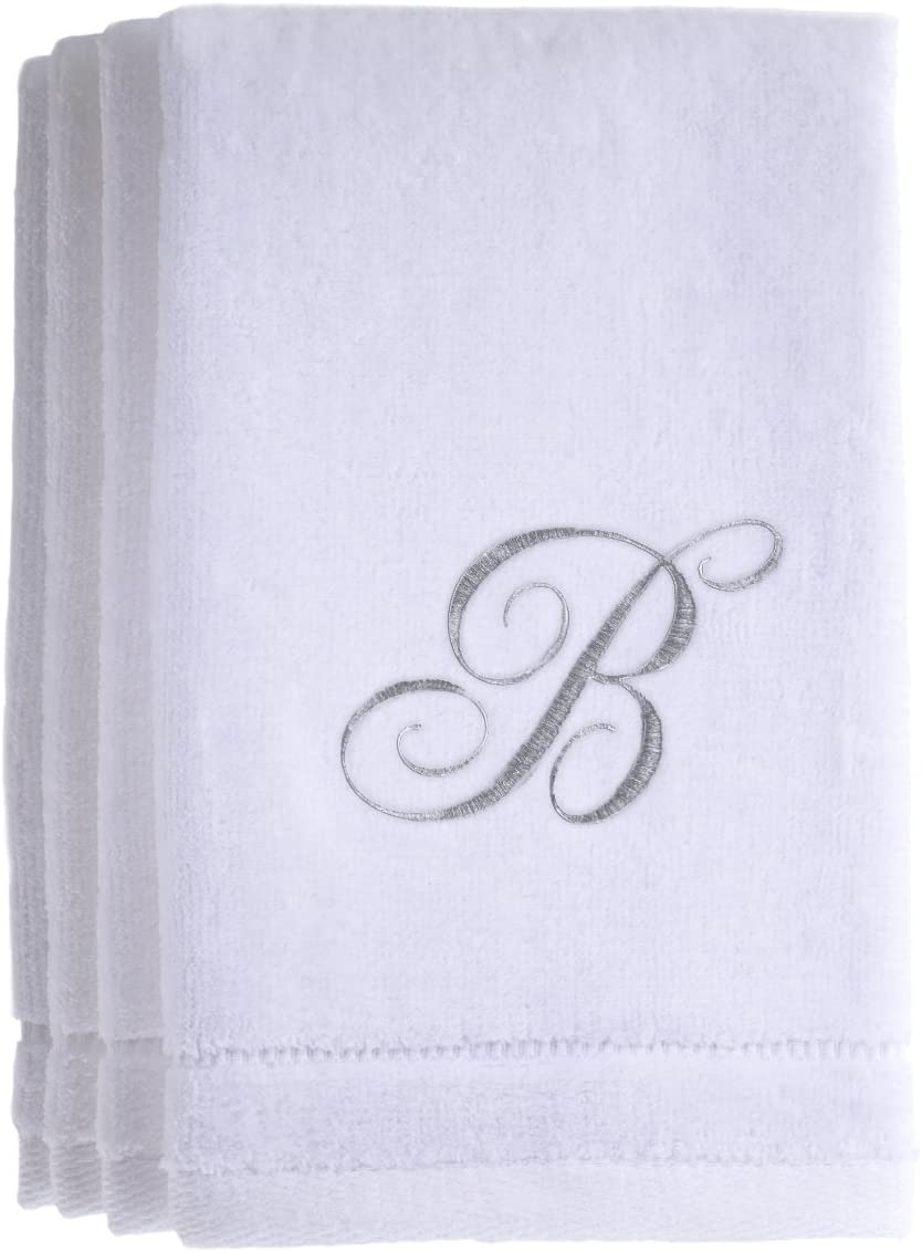Recommended Monogrammed Towels Fingertip Personalized Gift Inches 11 18 x free