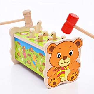 Anniston Kids Toys, Bear Whack A Mole Game Machine Kids Children Toddlers Pounding Puzzle Toy Gift Puzzles & Magic Cubes P...