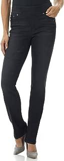 Best women's straight leg pull on jeans Reviews