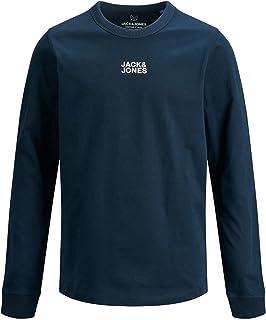 Jack & Jones Junior JCOCLASSIC TEE LS CREW NECK LN JR jongens t-shirt