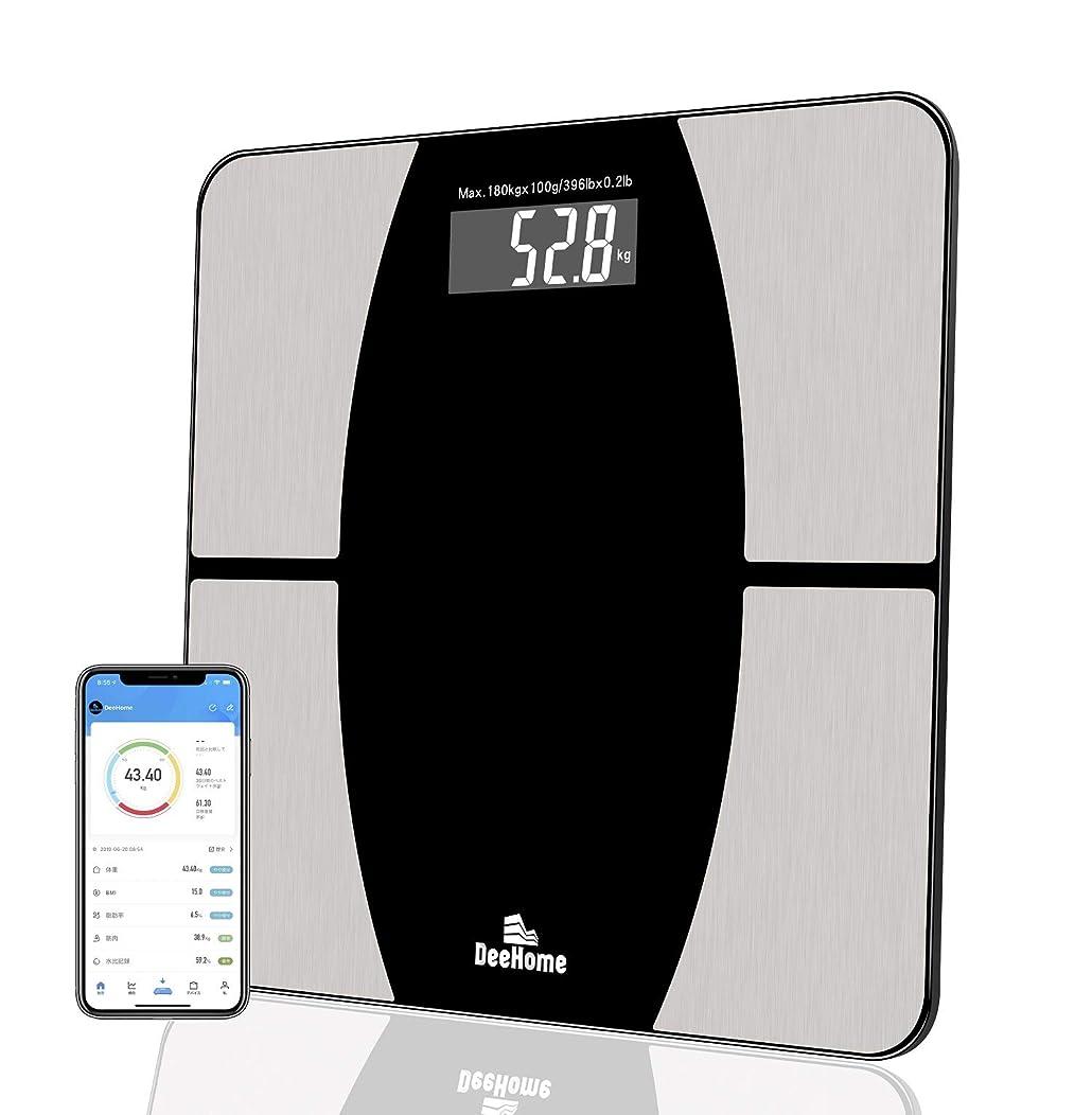 似ているワーディアンケースストライドDeehome 体重計 体組成計 Bluetooth対応体重計体脂肪組成計 体重/体脂肪率/体水分率/基礎代謝量/内臓脂肪レベル/BMIなど測定可能ヘルスメーターダイエットiOS/Androidアプリで健康管理 日本語取扱説明書あり