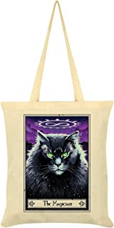 Deadly Tarot Felis The Magician Tote Bag Cream 38x42cm