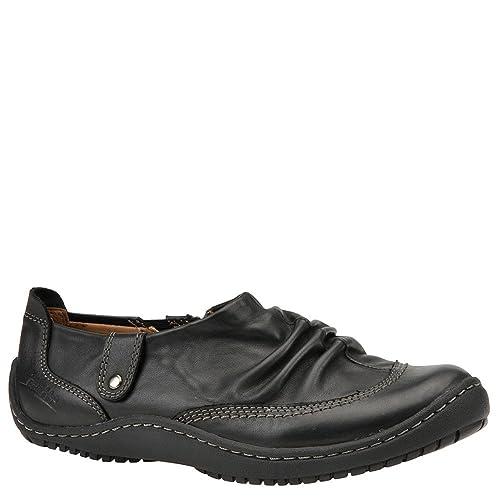 0ce8b1b9c0 Earth Women's the Invoke Black Mooshie Calf Vintage Leather