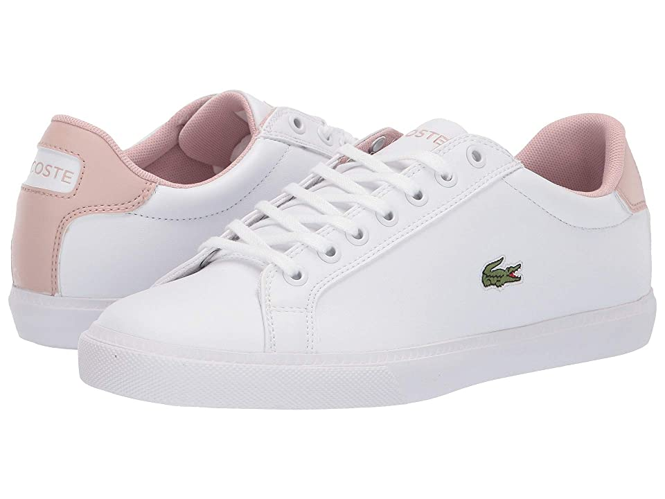 Lacoste Grad Vulc 119 2 P SFA (White/Light Pink) Women