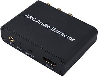 KESOTO O Adaptador de áudio HDMI ARC Suporta Estéreo para Barra de Som HDTV