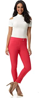 Rekucci Women's Ease in to Comfort Slim Ankle Pant with...