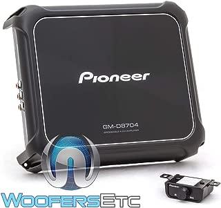 Pioneer GM-D8704 Gm Series 1, 200 Watt 4 Channel Class D Amp