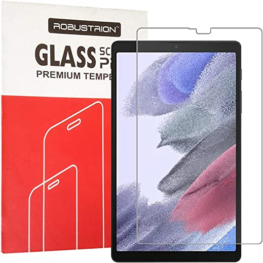 Robustrion Pack of 1 Anti-Scratch & Smudge Proof Premium Tempered Glass Screen Protector for Samsung Tab A7 Lite 8.7 inch SM-T220/T225