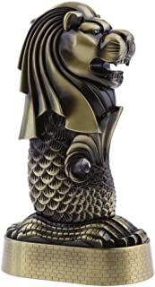Jili Online Merlion Building Sculpture Model of Singapore Crafts Home/Office Decor..