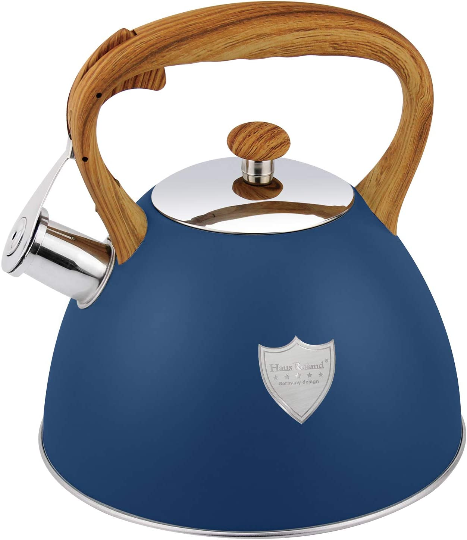 3L Tea Kettle Stovetop Whistling Teakettle Tea Pot,Food Grade St