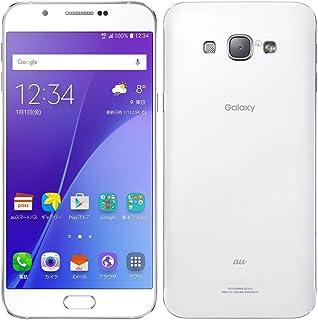 au Galaxy A8 SCV32 32GB [ホワイト] 白ロム