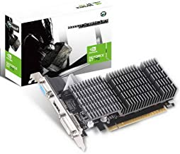 MAXSUN GEFORCE GT 710 2GB Video Graphics Card GPU, Support DirectX 12 OpenGl 4.5, Low Profile, Low Consumption, VGA, DVI-...