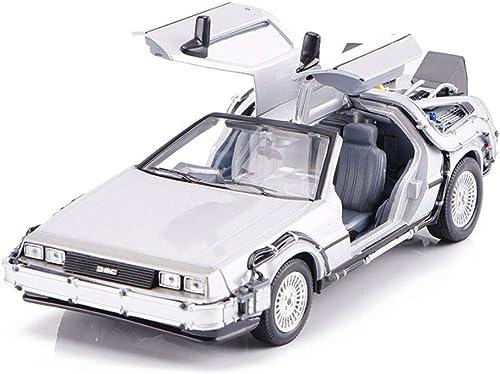 KKD Scale-Modellfahrzeuge Silbermodell Haier Wings Die Nummer Eins der Spieler kehrt in die Zukunft zurück. 1 24 Simulationsmodell Statisches Modell Dekoration Spielzeug Geschenk Mini Fahrzeuge