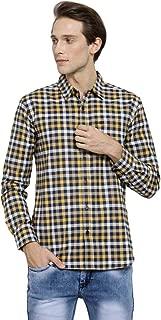 MAFATLAL Men Checkered Casual Shirt