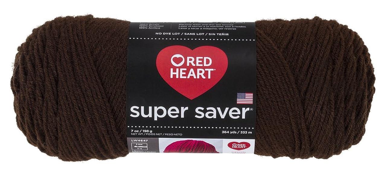 Red Heart?Super Saver Yarn, Coffee