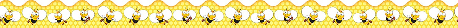 Carson Dellosa Buzz-Worthy Bees Ranking Limited time cheap sale integrated 1st place Borders 108203 Scalloped