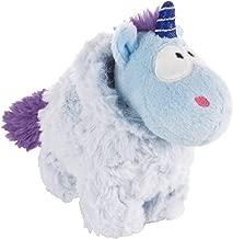 NICI 42443Theodor and Friends Unicorn Snow Coldson Cuddly Toy, 13cm, Blue/Purple