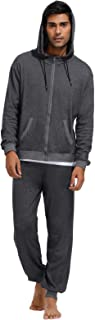 Men's Casual 2 Piece Outfits Full-Zip Hoodie and Sweatpants Jogging Suit
