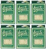 Ayate Washcloth, 100% Natural Agave Fiber, 1 washcloth (Pack of 6)