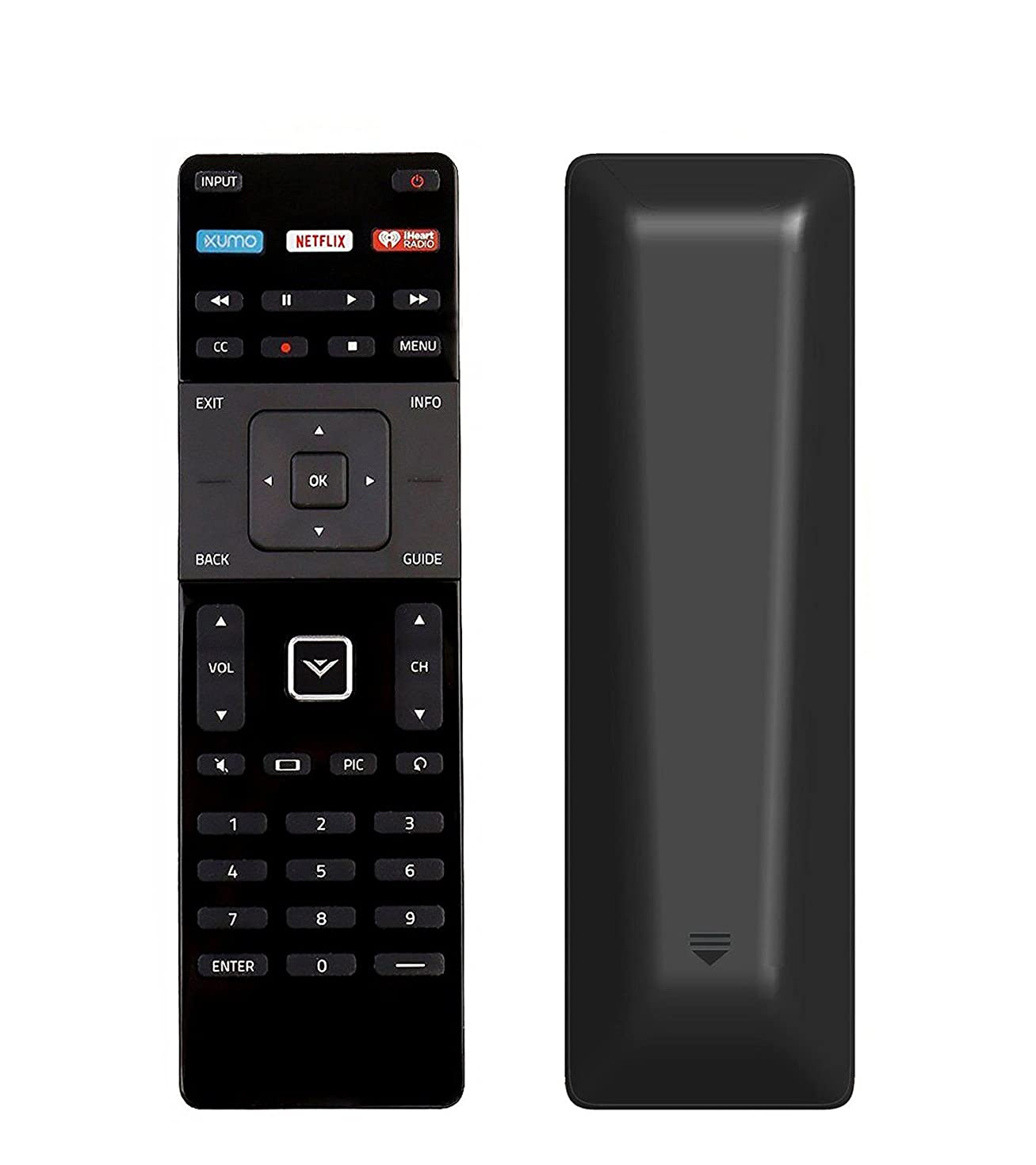 AULCMEET XRT122 Remote Control Compatible with VIZIO Smart TV D32f-E1 D39f-E1 D43f-E1 D43f-E2 D48f-E0 D50f-E1 D55f-E0 D55f-E2 D40u-D1 D50u-D1 D55u-D1 D24-D1 D28h-D1 D32-D1 D32h-D1 D32x-D1 D43-D2