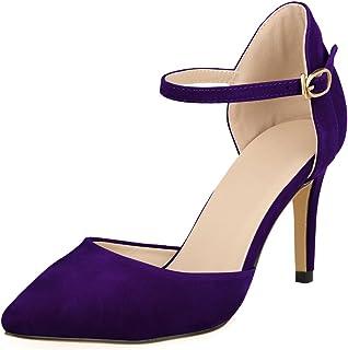 e7f7b4a7fe9 Amazon.co.uk: Purple - Court Shoes / Women's Shoes: Shoes & Bags