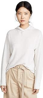 Women's Cashmere Overlap Hoodie