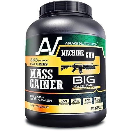 Arms Nutrition New Premium Quality High Protein Machine Gun Mass Gainer 3 Kg(Chocolate Ice Cream)