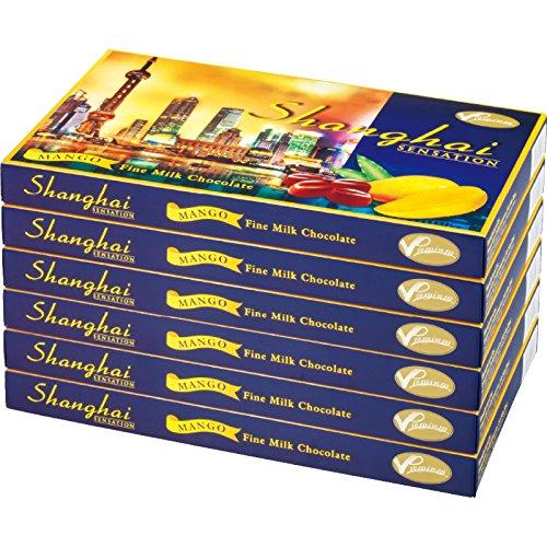 中国 土産 上海 マンゴーチョコレート 6箱セット (海外旅行 中国 お土産)